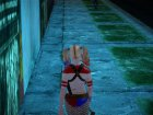 Harley Quinn Suicide Squad for GTA San Andreas back view