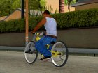NOX Cycles Mountainbike для GTA San Andreas вид слева