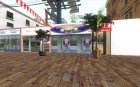 Новая пляжная улица для GTA San Andreas вид сверху