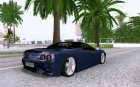 Ferrari 360 Spyder for GTA San Andreas top view