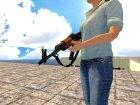 AK-47 с ремешком for GTA San Andreas rear-left view