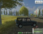 Mercedes-Benz G500 Police v2.0 for Farming Simulator 2013 inside view