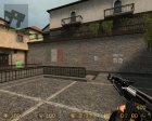 Ак-47 Black for Counter-Strike Source inside view