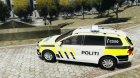 Volkswagen Passat - Norwegian Police Edition 2012 for GTA 4 left view