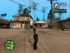 """Кожаные штаны """"Анархиста"""" для GTA San Andreas вид сзади слева"""