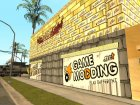 Новый спортзал на Грув Стрит для GTA San Andreas вид изнутри