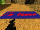 "Логотип ""I'm tawer"" for Counter-Strike 1.6 rear-left view"