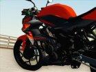 Kawasaki Z250SL Orange for GTA San Andreas right view