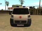 Fiat Ducato Ambulance для GTA San Andreas вид слева