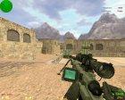 AWP с датчиком сердцебиения for Counter-Strike 1.6 rear-left view