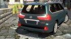 Lexus LX570 2016 для GTA 4 вид сбоку