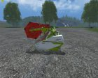 Жатки Claas Vario для Farming Simulator 2015 вид изнутри