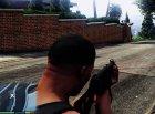Battlefield 4 UMP45 for GTA 5 rear-left view