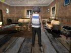 Skin HD GTA V Online в маске Енота v2 для GTA San Andreas вид сверху