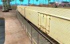 Изотермический вагон ХСТ для GTA San Andreas вид сзади слева