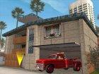 New santa maria house for GTA San Andreas rear-left view