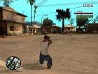 IMI UZI for GTA San Andreas inside view