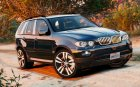 BMW X5 E53 2005 Sport Package 1.1 для GTA 5 вид изнутри