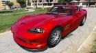 1999 Dodge Viper GTS ACR для GTA 5 вид сверху