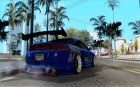 Mitsubishi Eclipse Tunning for GTA San Andreas top view