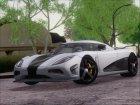 Koenigsegg Agera R Racer для GTA San Andreas