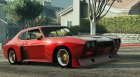 1974 Ford Capri RS для GTA 5 вид изнутри