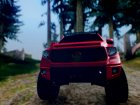 Toyota Tundra 2017 V2 для GTA San Andreas вид сзади слева