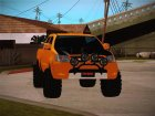Toyota Hilux 2010 Off-Road Swag edition для GTA San Andreas вид сзади слева