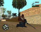 Пак удобного оружия for GTA San Andreas rear-left view