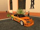 """Полный пак машин из к/ф """"Форсаж"""" (1-7) для GTA San Andreas вид сбоку"""