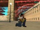 Gold gun`s by Nikitos1k2207 для GTA San Andreas вид сверху