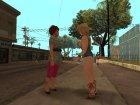 Mega Skins pack для GTA San Andreas вид справа