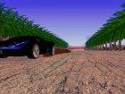 Новый заброшенный аэродром V1 for GTA San Andreas top view