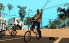Пак велосипедов от Elaman24 для GTA San Andreas вид сзади слева