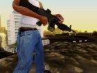 MG 4 from Warface для GTA San Andreas вид слева