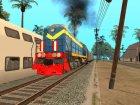 Пак реальных поездов V.2 от VONE для GTA San Andreas вид изнутри
