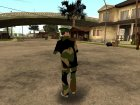 The Grove Street (fam2) для GTA San Andreas вид слева