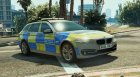 Met Police BMW 525D F11 (ANPR Interceptor) 1.1 for GTA 5 top view