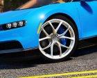 2017 Bugatti Chiron (Retexture) 4.0 for GTA 5 left view