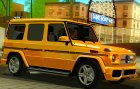 Mercedes-Benz G65 2013 Stock Body для GTA San Andreas вид сзади слева