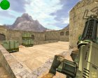 Лазерный Minigun for Counter-Strike 1.6 rear-left view