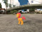 Babs Seed (My Little Pony) для GTA San Andreas вид изнутри