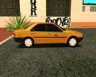 Peugeot 405 Roa Taxi for GTA San Andreas rear-left view