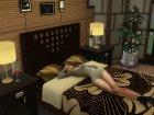 Goodnight Animation Pack для Sims 4 вид изнутри