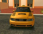 Audi A4 1.9 TDI Taxi for GTA San Andreas left view
