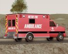 Ambulance - Metro Fire Ambulance 69 для GTA San Andreas вид сверху