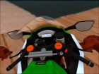 Kawasaki ZX10 R R17 for GTA San Andreas inside view