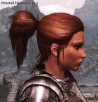 Ponytail Hairstyles для TES V Skyrim вид изнутри
