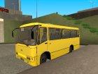 Автобус Hyundai «Богдан» А092 для GTA San Andreas вид сзади слева