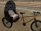 Пак велосипедов v.2 для GTA San Andreas вид изнутри